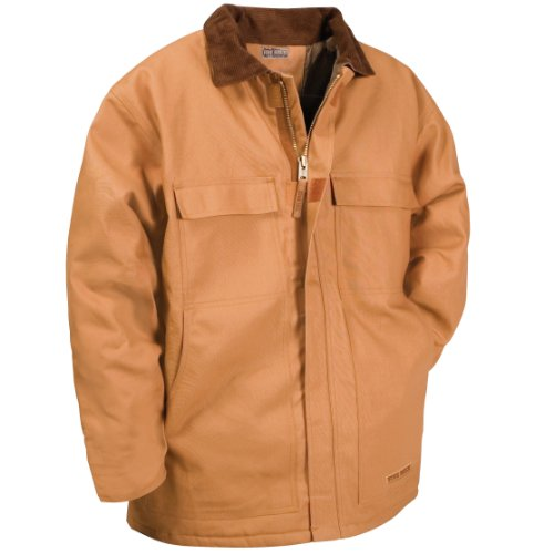 Five Rock Deluxe Insulated Chore Coat in Brown 3XL Tall