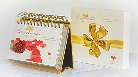 Islamic 365 Day to Day Perpetual Islamic Calendar 365 Hadith Day to Day Reminders Islam Muslim Gift *