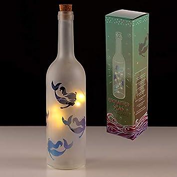 Luz decorativa LED para botellas de vidrio - Diseño de sirena ...
