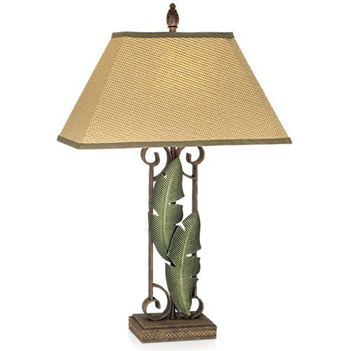 Tropical Leaf Table Lamp - 1