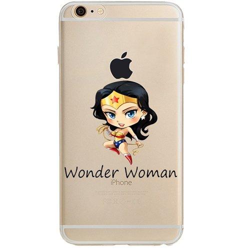- Batman, Catwoman, Joker, Harley Quinn, Iron Man, Captain America, Spider Man, The Hulk, Thor, Deadpool Jelly Clear Case for Apple iPhone 6 / iPhone 6s (4.7