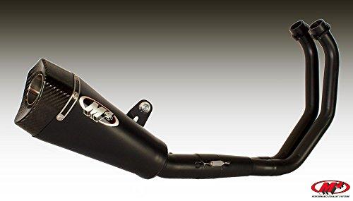 M4 Full High Exhaust - M4 15-17 Yamaha FZ07 RM1 Full System Exhaust (Black)