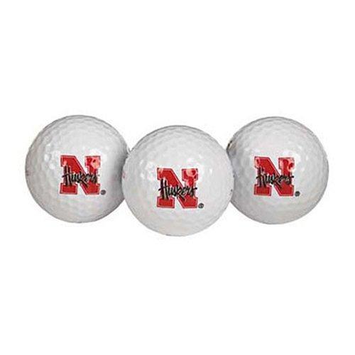 Nebraska Huskers Golf Ball Pack of 3 Nebraska Huskers Golf