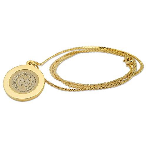CSI Cannon Sports Notre Dame Fighting Irish Gold Pendant Necklace