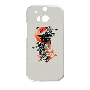 HTC One M8 Cell Phone Case White The Lost Temple