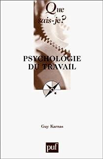 Psychologie du travail par Karnas