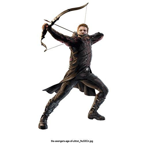 The Avengers: Age of Ultron 8X10 Photo Hawkeye Taking Aim w/Bow & Arrow Pose 2 kn