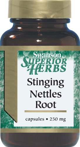 Stinging Nettles Root 120 Capsules 4 Bottles by Swanson