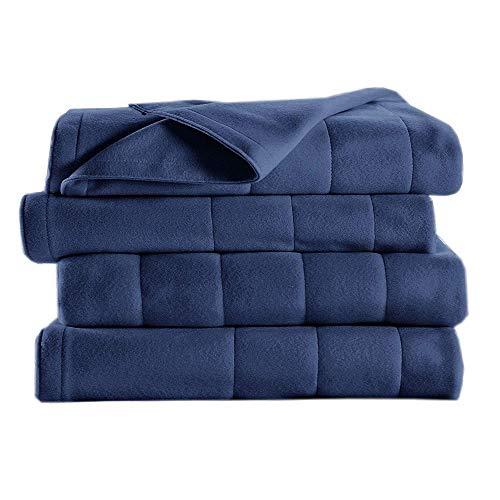Cheap Sunbeam Royal Dreams King Heated Blanket Newport Blue Black Friday & Cyber Monday 2019