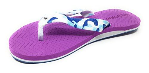d2291de188ee97 Wildcraft Women s Lily Purple Flip-Flops-5 UK India (38 EU)(51600)  Buy  Online at Low Prices in India - Amazon.in