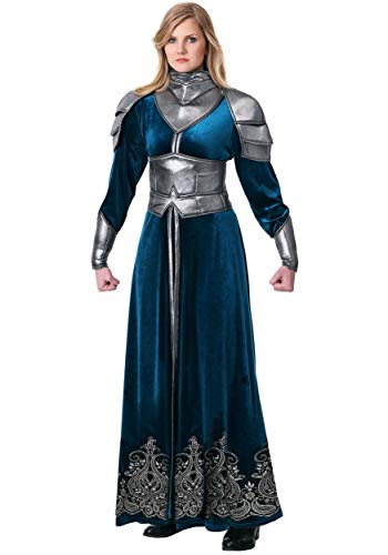 Women's Medieval Warrior Costume X-Large Blue ()