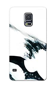 Catenaryoi Rugged Skin Case Cover For Galaxy S5- Eco-friendly Packaging(dead Master Black Rock Shooter)