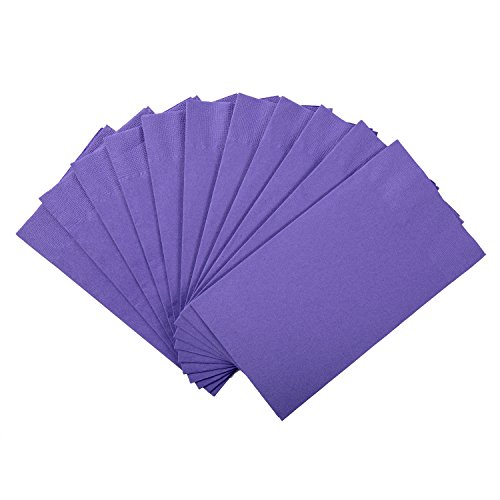 Royal Purple Dinner Napkin, Package of 125 ()