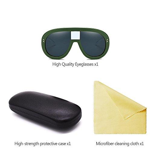 06 Estilo Gafas XFentech Mujeres de sol No Siameses para las de polarizadas Gafas Retro UV400 6wwqTO