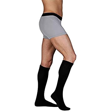 4be25809a Image Unavailable. Image not available for. Color  Juzo Knee High Silver  Sole Socks ...