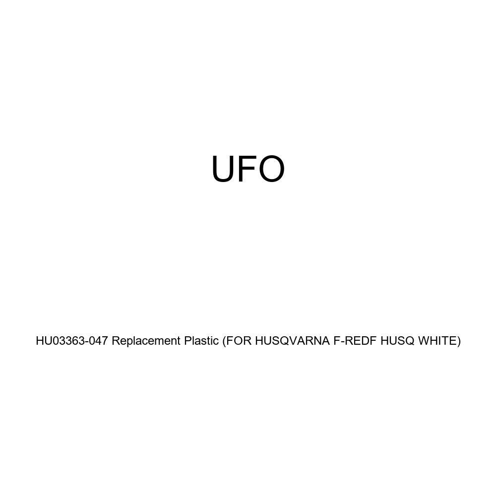 for Husqvarna F-REDF HUSQ White UFO HU03363-047 Replacement Plastic