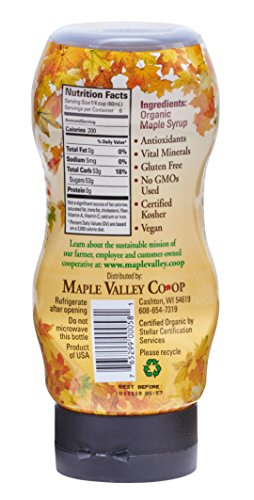 Maple Valley 12 Oz. Squeeze Bottle Grade A Dark & Robust (1 Pack) by Maple Valley (Image #1)