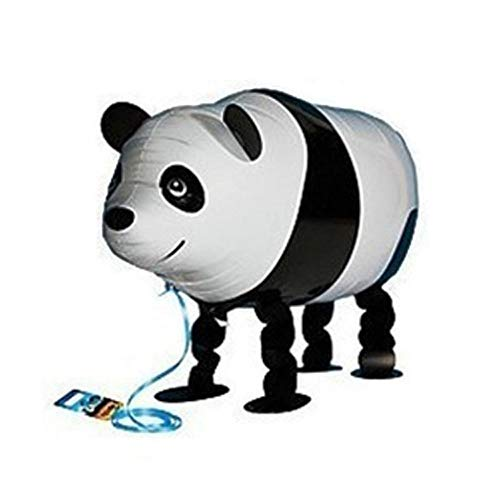 ons Pet Balloons - Cute Cartoon Aluminum Film Walking Balloon Birthday Party Supplis - Educational Toys Animal Theme Christmas Decorations Gifts Children (Panda) ()