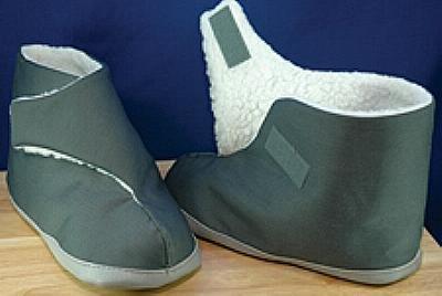 Care Apparel EdemaBoots (tm) Slippers - Men's, - Slippers Care Apparel Edemaboots
