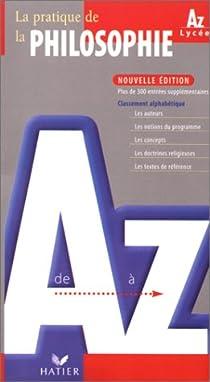 La philosophie de Aà Z par Clément