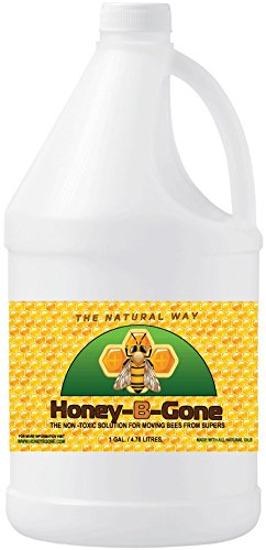 Honey B Gone Bee Repellant For Repelling Honeybees From Honey Supers (1 Gallon)