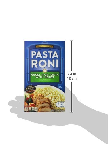 Pasta Roni Angel Hair Pasta With Herbs Mix 4 8 Ounce Pack Of