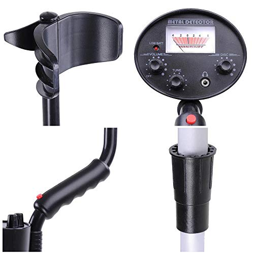 (Womby Metal Detector with Portable Shovel - High-Accuracy Metal Finder 7
