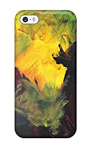For Iphone 5/5s Premium Tpu Case Cover Abstract Painting Protective Case