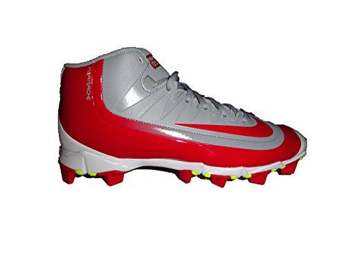 Nike Hombres Huarache 2kfilth Keystone Mid Botas De Béisbol, Wolf Gray / University Red
