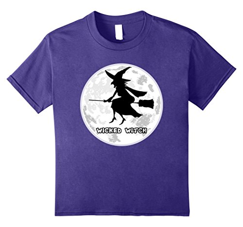 Kids Hollween Flying Wicked Witch Humor T-shirt 10 (Hollween Costume Ideas)