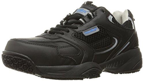 Nautilus Safety Footwear Men's Nautilus 2111 Slip Resistant Safety Toe Athletic Industrial & Construction Shoe, Black, 9 2E US