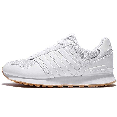 Adidas Mens 10k, Ftwwht / Ftwwht / Grwtwo Ftwwht / Ftwwht / Grwtwo