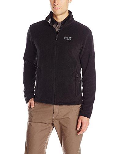 Jack Wolfskin Herren Fleece Jacke Moonrise Jacket, Black, XL, 1702061-6000005