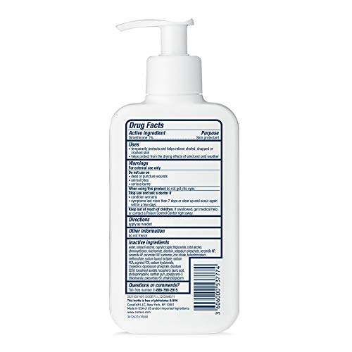 41CYQv 7CvL - CeraVe Baby Lotion | Gentle Baby Skin Care With Hyaluronic Acid | Paraben And Fragrance Free | 8 Ounce