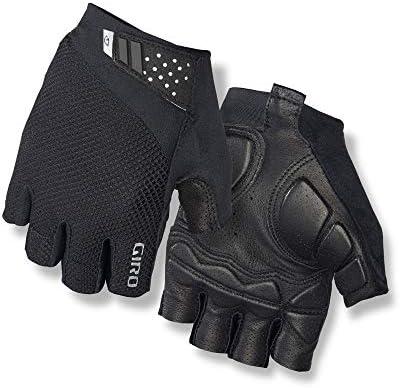 Charcoal//Black Giro Monaco Half Finger Cycling Gloves Large