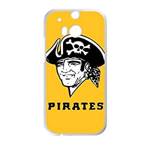 old pittsburgh pirates logo Phone Case for HTC One M8
