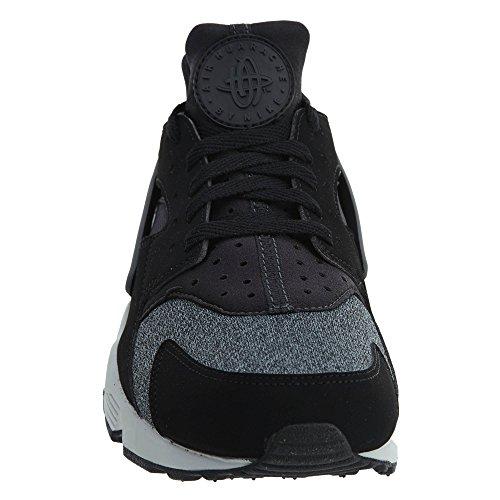 Nike Herren Air Huarache Schwarz / Anthrazit / Lila Platin