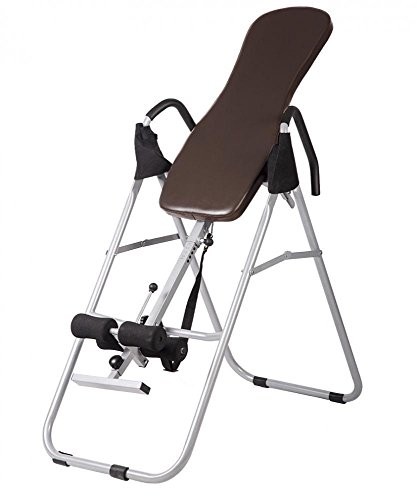 Adjustable Folding Inversion Table Inversion Machine With Comfort Backrest by allgoodsdelight365