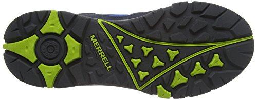 Merrell Tahr Waterproof - Zapatos de Low Rise Senderismo Hombre Multicolor - Mehrfarbig (Ebony/Tender Shoots)
