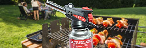 Price comparison product image 'Honana 360 Degree Gas Torch Flamethrower Burner Butane Gas Blow Outdoor Camping BBQ Baking Meat Tool'