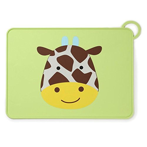 Skip Hop Silicone Placemats For Baby And Toddlers, Giraffe