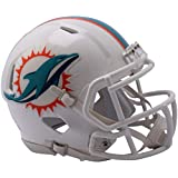 Riddell Miami Dolphins Revolution Speed Mini Football Helmet - NFL Mini Helmets
