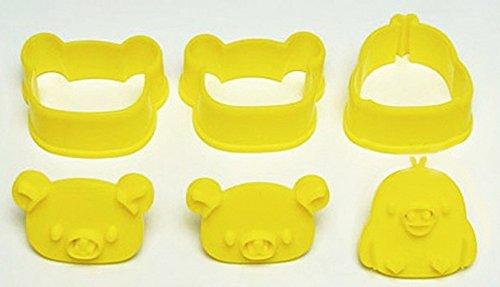 San-X Relax Bear Rilakkuma Cookie Cutter Mold