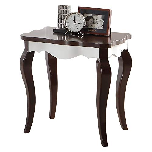 Benzara BM186267 Wooden End Table with Cabriole Legs, for sale  Delivered anywhere in Canada