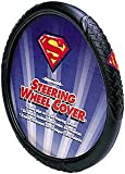 Plasticolor Superman Logo Steering Wheel Cover