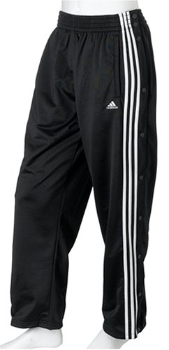 5a8a1fd2 Amazon.com: adidas Men's 100G Snap Pant, Black/White, X-Large/Tall ...