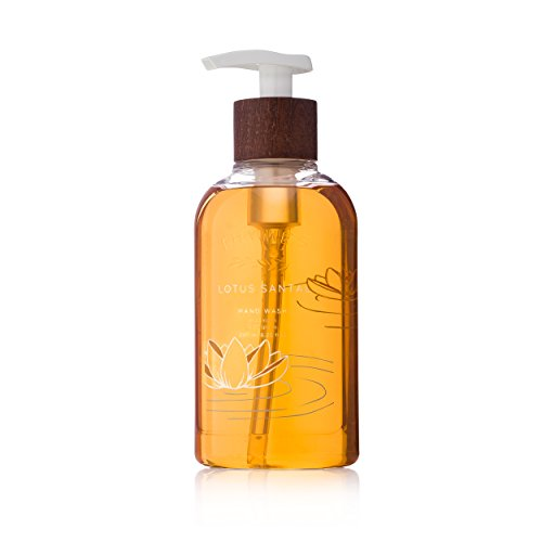 Thymes - Lotus Santal Hand Wash with Pump - Hydrating Liquid Hand Soap with Warm Sandalwood Scent - 8.25 oz