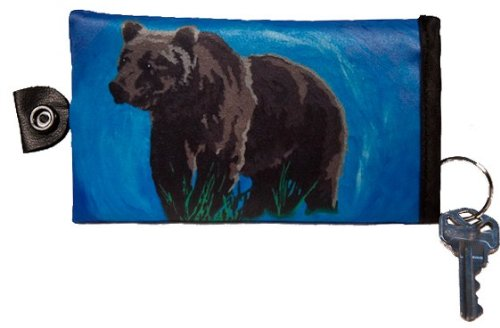 Bear Key Case   Key Chain   Support Wildlife Conservation   Read How