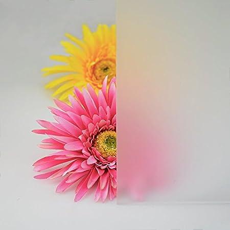 5mm PLEXIGLAS/® Platte 25x25 cm satiniert Milchglas