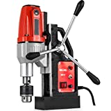 """Mophorn 980W Magnetic Drill Press with 1.37""""(35mm) Boring Diameter Magnetic Drill Press Machine"""